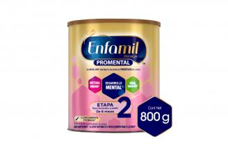 Enfamil Premium Promental Etapa 2 Tarro Con 800 g
