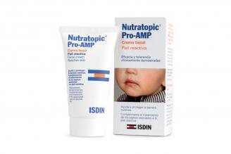 Crema Facial Nutratopic Piel Reactiva Caja Con Tubo Con 50 mL