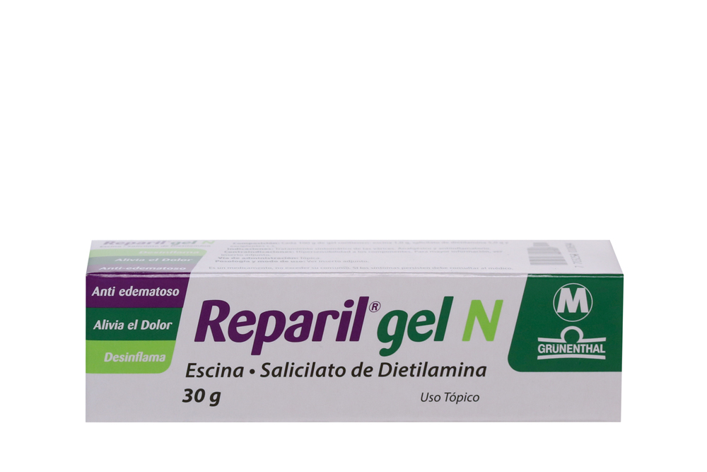 Reparil Gel N Caja Con Tubo Con 30 g