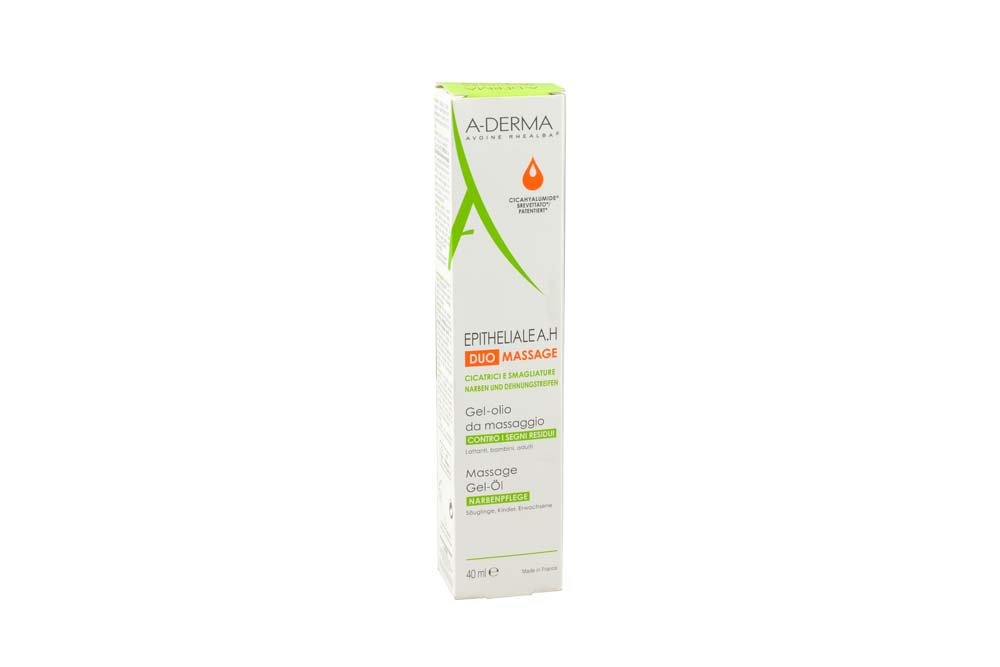 A-Derma Epitheliale A.H. Duo Massage Gel-Oil Frasco Con 40 mL