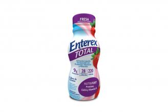 Enterex Total Frasco Con 237 mL- Sabor Fresa