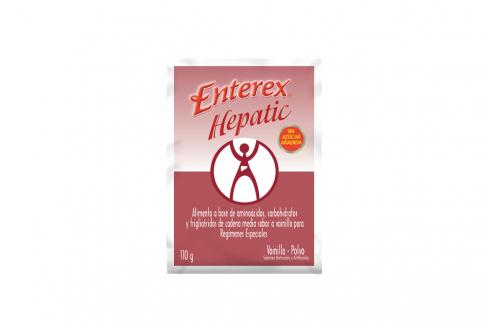 Enterex Hepatic Polvo Sobre Con 110 g - Sabor Vainilla