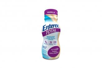 Enterex Total Frasco Con 237 mL - Sabor Vainilla
