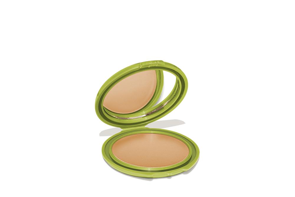 Polvo Compacto Control Imperfecciones Kaloe Estuche Con 15 g - Tono No. 6 Canela