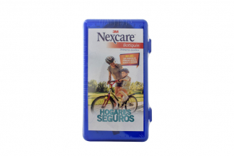 Botiquín Nexcare Caja Plástica Azul Con Kit