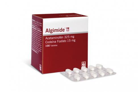Algimide 325 / 15 mg Caja Con 100 Tabletas Rx