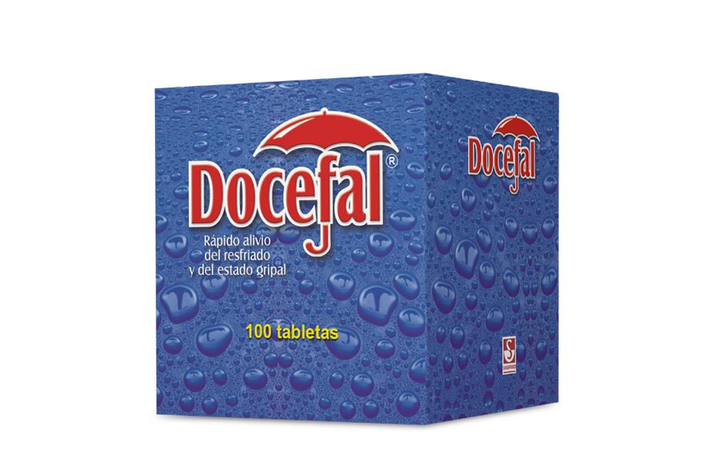 Docefal Caja Con 100 Tabletas