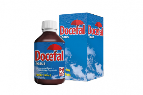 Docefal Jarabe Caja Con Frasco Con 120 mL Rx