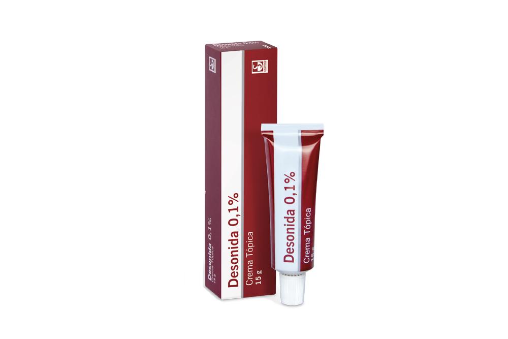 Desonida 0.1 % Crema Caja Con Tubo Con 15 g Rx