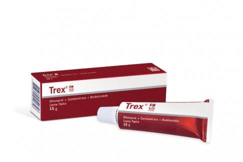 Trex Crema Caja Con Tubo Con 15 g Rx