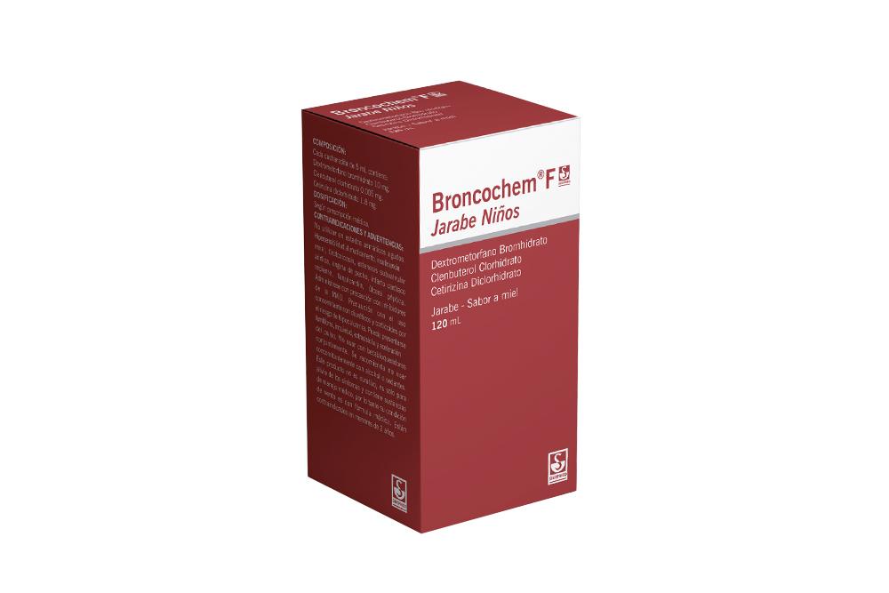 Broncochem F Niños Jarabe Caja Con Frasco Con 120 mL Rx
