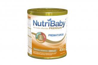 Fórmula Nutribaby Premium Prematuros Tarro Con 400 g