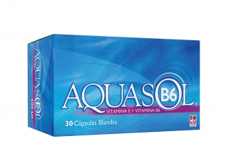 Aquasol B6 Caja Con 30 Cápsulas Blandas