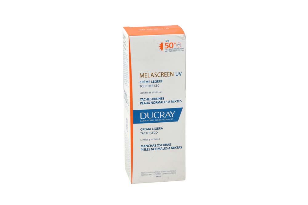Ducray Melascreen Creme Legere SPF 50+ Caja Con Tubo Con 40 mL