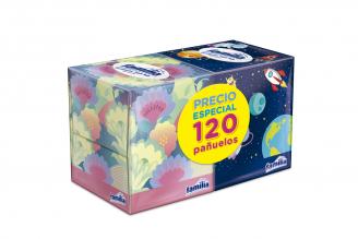 Pañuelos Familia Empaque Con 2 Cajas Con 60 Unidades C/U