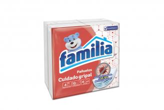 Pañuelos Familia Cuidado Gripal Paquete Con 4 Unidades Con 10 Pañuelos C/U