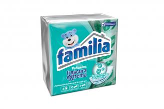 Familia Pañuelos Frescura Extrema Caja Con 4 Paquetes