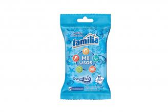 Paños Húmedos Familia Mil Usos Empaque Con 10 Unidades