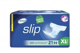 Pañales Tena Slip Extra Largos Pega Despega Paquete Con 21 Unidades