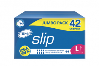 Tena Slip Large Caja Con 42 Unidades – Jumbo Pack