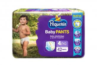 Etapa 4XG Pequeñín Baby Pants Empaque Con 42 Unidades