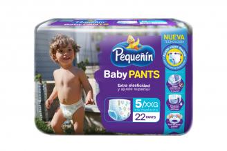 Pañal Pequeñín Baby Pants Etapa 5 Empaque Con 22 Unidades