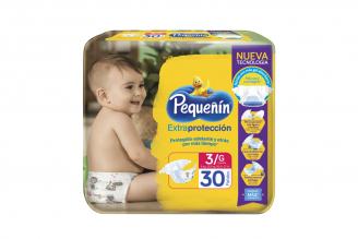 Etapa 3 G Pañal Pequeñín Extra Confort Plus Paca Con 30 Unidades