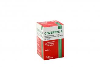 Coversyl A 10 mg Caja Con 30 Comprimidos Rx