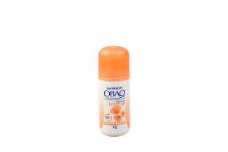 Desodorante Obao Frescura Intensa Frasco Roll On Con 65 g