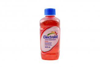 Electrolit Suero Rehidratante Frasco Con 625 mL - Sabor Fresa