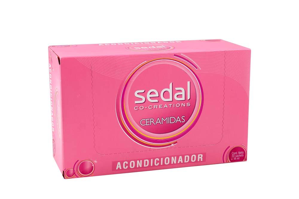 Acondicionador Sedal Ceramida Caja Con 20 Unidades Con 18 mL C/U