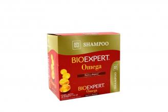 Shampoo Bioexpert Omega Caja Con 18 Sobres Con 16 mL