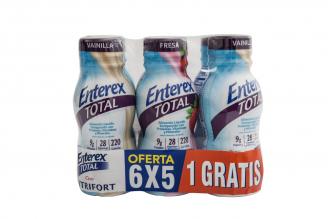 Enterex Total Promo Pague 5 Lleve 6 Frascos Con 8 oz C/U