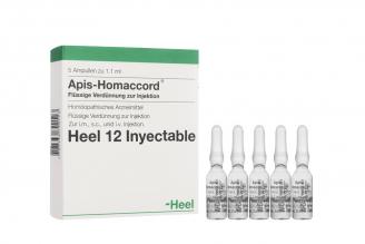 Heel Apis-Homaccord Caja Con 5 Ampollas Con 1,1 mL Rx