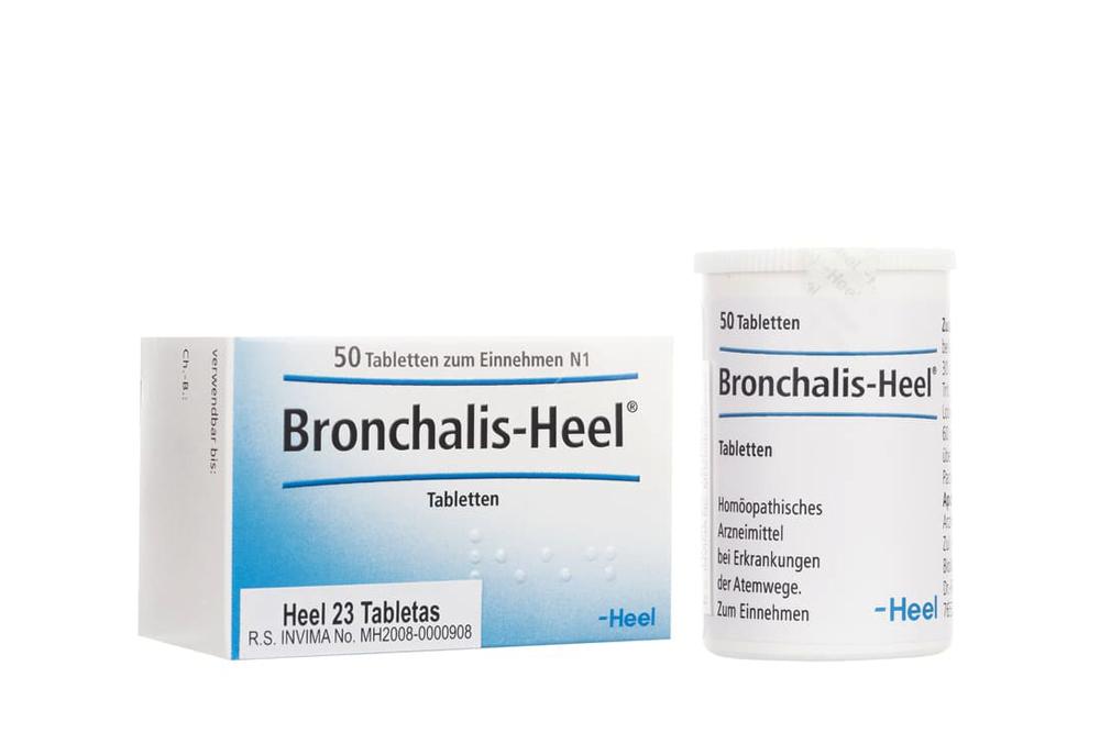 Bronchalis Heel 23 Caja Con 50 Tabletas Rx