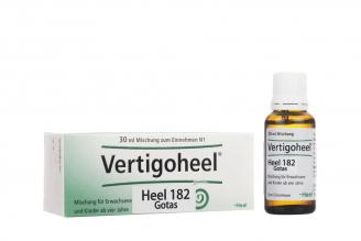Vertigoheel Heel 182 Caja Con Frasco Gotero Con 30 mL Rx