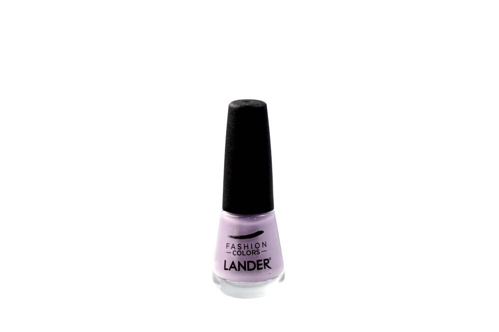 Esmalte Lander  Color Violeta Claro 16C Frasco Con 7 mL