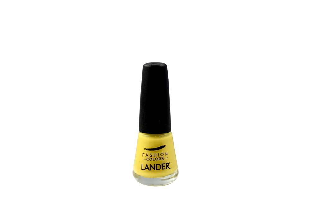 Esmalte Para Uñas Fashion Colors Lander Frasco Con 7 mL - Ref 55 Color Amarillo