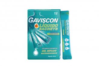 Gaviscon Líquido Caja Con 12 Sachets