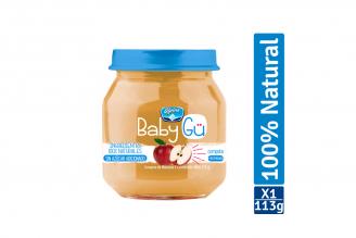 Compota Natural Alpina Baby GÜ Sabor Manzana Pote Con 113 g