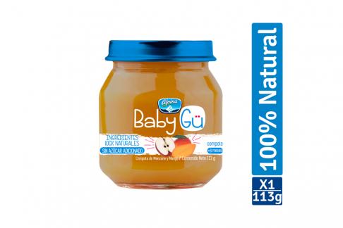 Compota Natural Alpina Baby GÜ Sabor Manzana Mango Pote Con 113 g