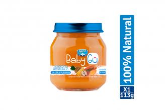 Compota Natural Alpina Baby GÜ Sabor Frutas Mixtas Pote Con 113 g