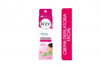 Veet Crema Depilatoria Silky Fresh Facial Caja Con Tubo Con 30 mL