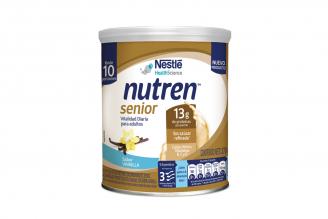Nutren Senior Alimento En Polvo Sabor Vainilla Envase Con 370 g