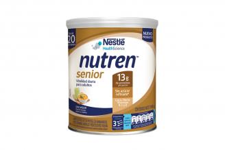 Nutren Senior Alimento En Polvo Sin Sabor Envase Con 740 g