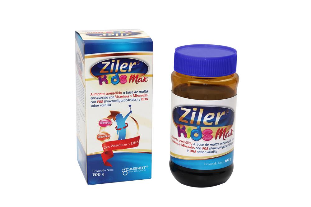 Ziler Kids Max Alimento Semisólido Frasco Con 300 g