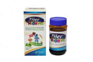 Ziler Kids Plus Alimento Semisólido Frasco Con 300 g
