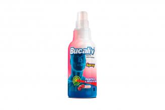 Bucaliv Spray Sabor Cereza Frasco Con 120 mL