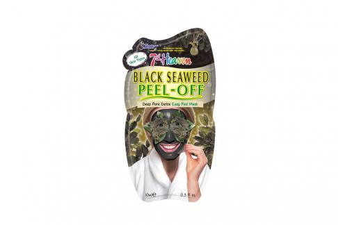 7th Heaven Mascarilla Facial Peeling De Algas Negras Sachet Con 1 Unidad De 10 mL