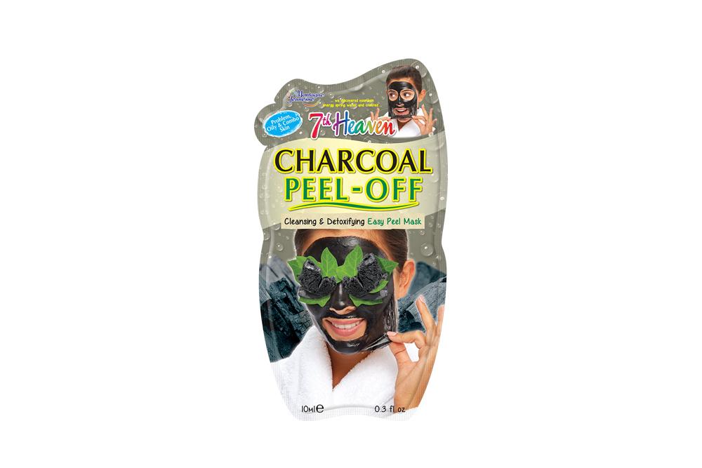 7th Heaven Mascarilla Facial Peeling De Carbón Sachet Con 1 Unidad De 10 mL